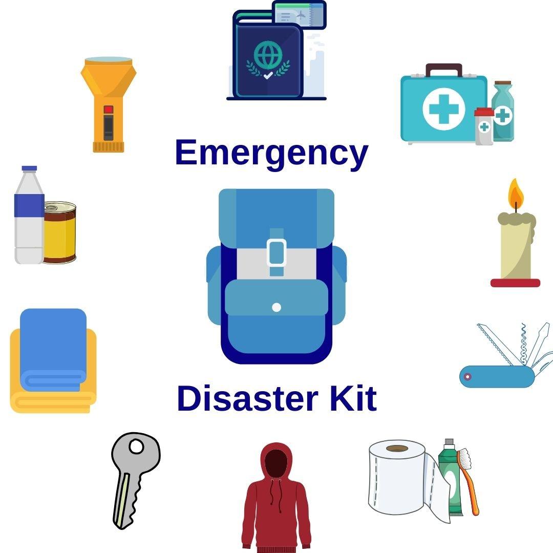 Emergency Disaster Kit Poster