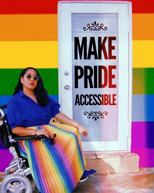 Make Pride Accessible Poster